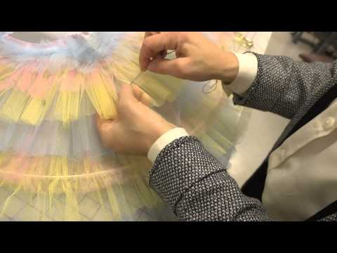 Constructing a Classical Ballet Tutu (Part 5: Hooping & Quilting the Skirt) - University of Akron