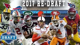Re-Drafting the 2017 Rookie Class! | NFL Throwback