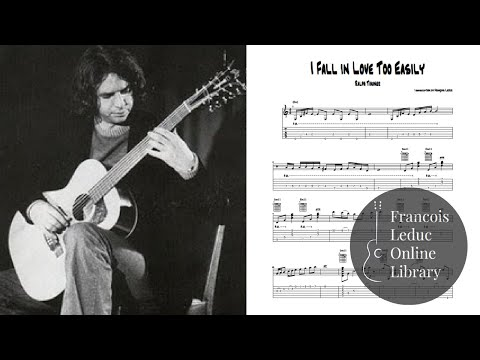 I Fall in Love Too Easily - Ralph Towner (Transcription)