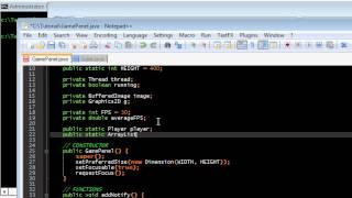 Part 4 - Basic Game Programming In Java - Firing Bullets