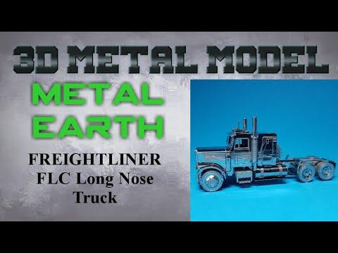 Metal Earth build - FREIGHTLINER FLC Long Nose Truck