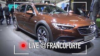 Opel Insignia Country Tourer, se non vi piacciono i SUV... | Salone di Francoforte 2017