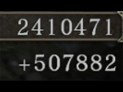 【DARK SOULSⅡ】3分以内50万ソウル稼ぎ/無限入手方法RTA(光る楔石・火の種・女神の祝福)【アイテム攻略実況解説Part7】