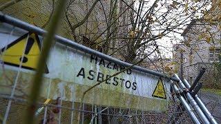 Crazy Man Runs Us Over In Abandoned Asylum