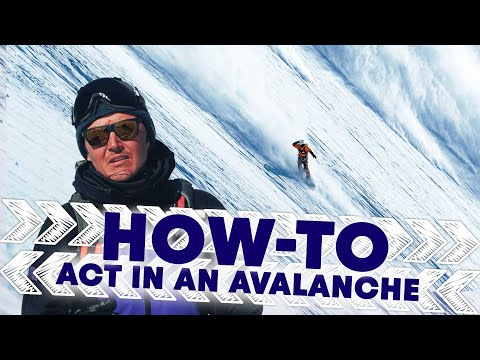How To Act In The Event Of An Avalanche | Shred Hacks