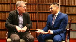 Andy Crouch speaks with Krish Kandiah about God is Stranger