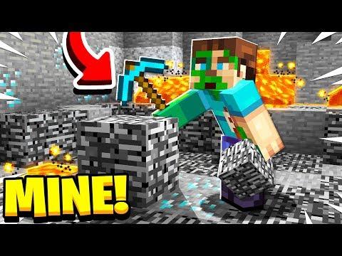 How To MINE Bedrock In Minecraft!