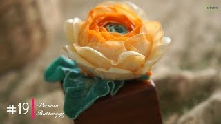 #19 Persian Buttercup | How to Buttercream flowers with MeNgheHomemade