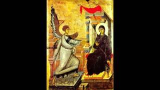 نشيد البشارة - اليوم بدء خلاصنا - The Annunciation