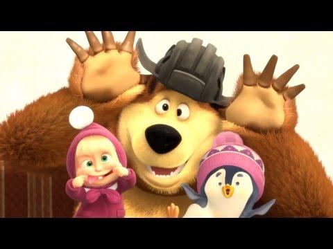 Маша и Медведь - Сборник 'В гостях у Маши' - Все лучшие серии подряд - Как поздравить с Днем Рождения