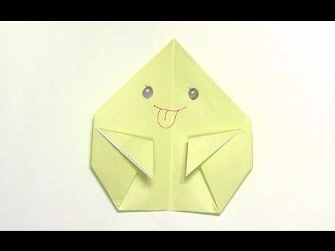 折り紙の おばけ 折り紙 : youtube.com