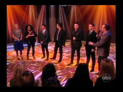NKOTB on The View 01/22/13