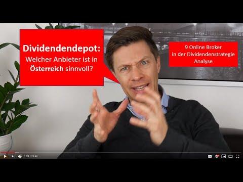 Dividendendepot in Österreich - welcher Broker ist geeignet?