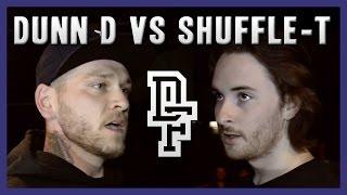 DUNN D VS SHUFFLE-T   Don't Flop Rap Battle