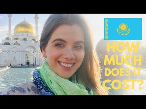 Is Kazakhstan Expensive? | Downtown Airbnb, Groceries, Attractions, Mid-Range Meals