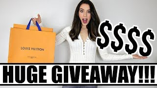 A VERY SPECIAL UNBOXING & HUGE GIVEAWAY!!! | Louis Vuitton Bag OR $$$$