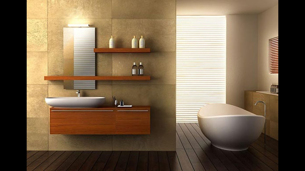 Bathroom Interior Prepossessing Bathroom Interior Decor   Best Interior Design   Youtube Design Ideas