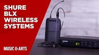 Shure – BLX | Wireless Systems