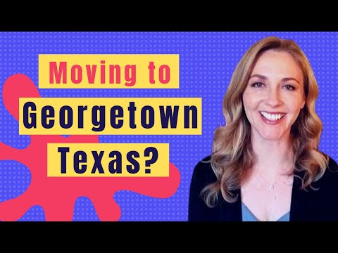 Why You Should Definitely Move To Georgetown, Texas!