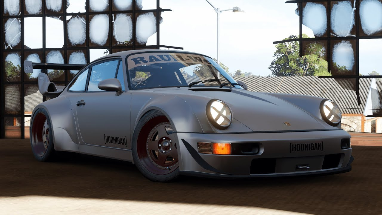 Forza Horizon 4 1991 Hoonigan Rauh Welt Begriff Porsche 911 Turbo Gameplay Youtube