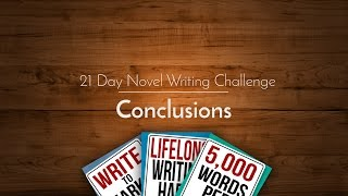 21 Day Novel Writing Challenge: Conclusions