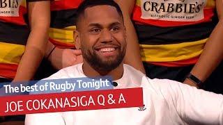 Joe Cokanasiga on his Fijian name and playing for Eddie Jones | Rugby Tonight Q&A
