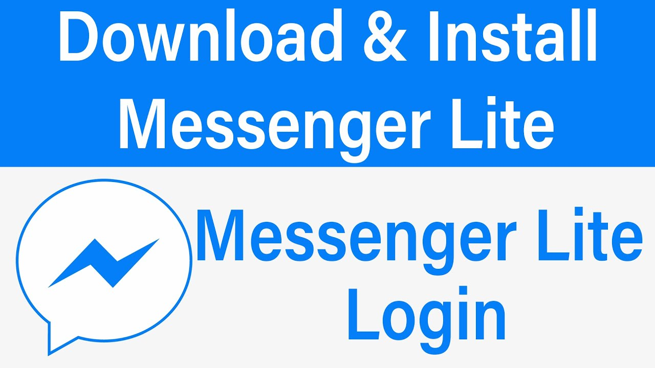 Download & Install Messenger Lite 20   Messenger Lite Login 20 ...