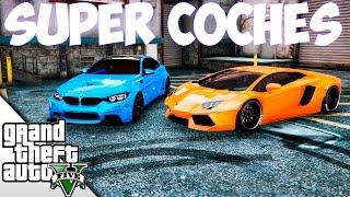 GTA V MODS | LAMBORGHINI AVENTADOR VS BMW M4 LIBERTY WALK TUNING! | BraxXter