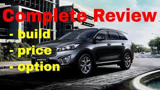2018 Kia Sorento SUV - Build & Price Review - L, LX, LX V6, EX 2.0T, EX V6, SX and SX Limited