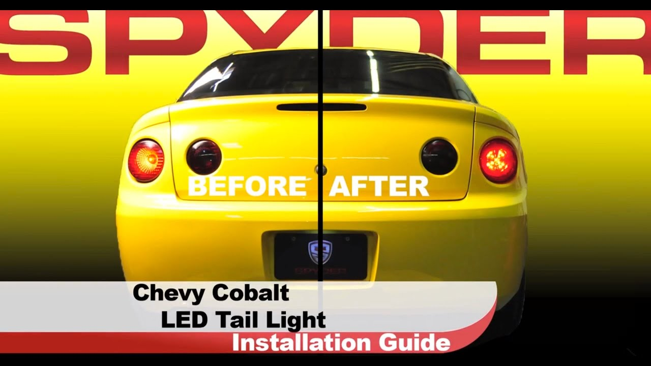 Spyder auto installation 2005 10 chevrolet cobalt coupe led tail spyder auto installation 2005 10 chevrolet cobalt coupe led tail lights youtube sciox Gallery