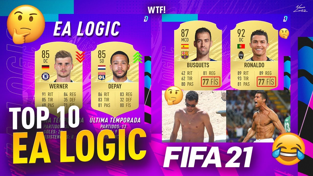TOP 10 MEJORES CASOS DE EA LOGIC EN FIFA 21