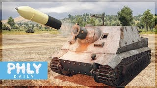 380MM ROCKET | STURMTIGER Heavy Assault Tank (War Thunder Tanks Gameplay)