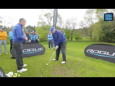 Pivot around a central point in your swing