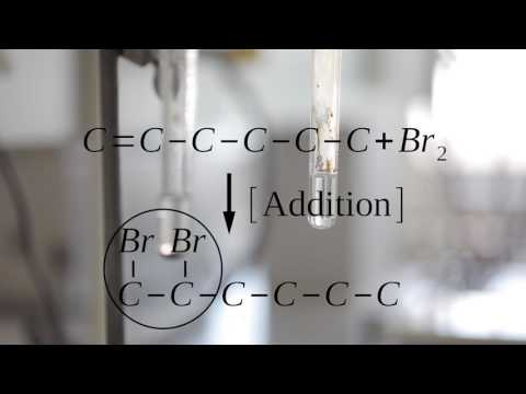 ADDITION OF  BROMINE AND KMNO4 TO CYCLOHEXENE