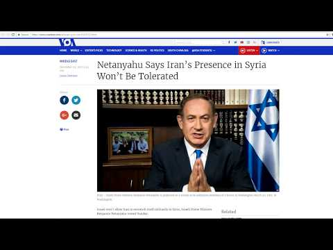 12 Iranians Killed in Israeli Strike In Syria-Netanyahu To Be Indicted?