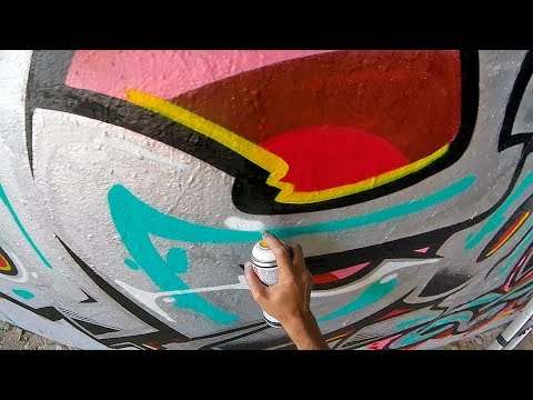 Graffiti - Rake43 - Metal & Colors