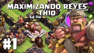 Ponemos a Mejorar el Rey Bárbaro al Nivel 31!! #1 - MAXIMIZANDO REYES AL 40 TH10 - CLASH OF CLANS