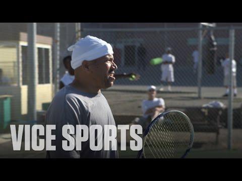 Tennis at San Quentin Prison