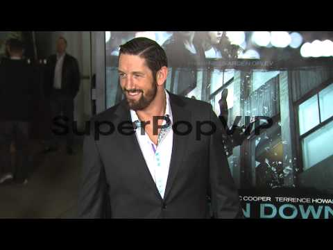Wade Barrett at Dead Man Down Los Angeles Premiere 2/26/2...