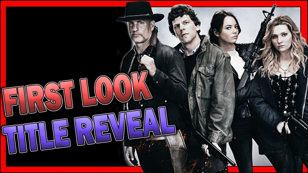 Zombieland 2 First Look Title Reveal Youtube