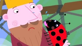 Ben and Holly's Little Kingdom | Gaston Sleepover | 1Hour | HD Cartoons for Kids
