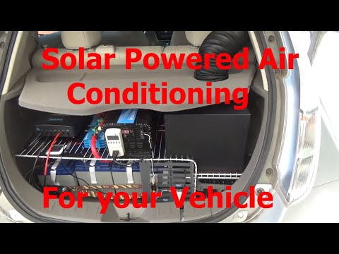 Solar Powered Vehicle Air Conditioning