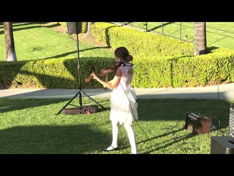 All of Me John Legend - Karolina Protsenko is playing on the Wedding at Bel-Air Bay Club