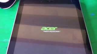 Tutorial Reset Tablet Acer a1-810