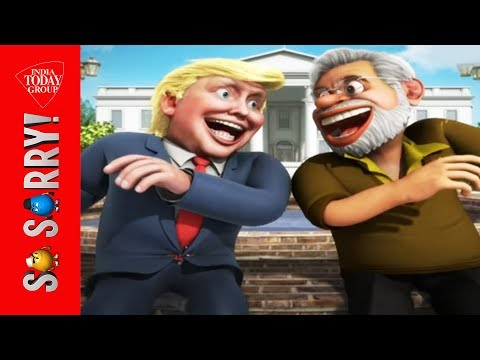 So Sorry : Modi-Trump Meeting