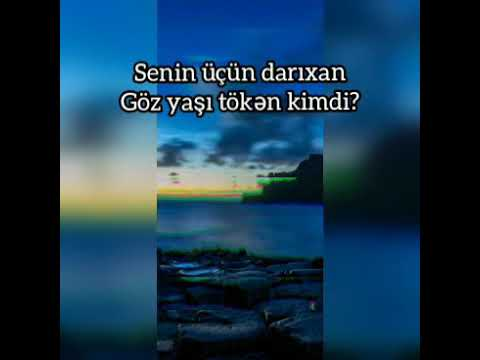 Baciya aid möhtəşəm şeir (Canim Bacim)