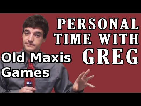 Personal Time With Greg: Old Maxis Games
