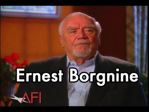 Ernest Borgnine on THE WILD BUNCH