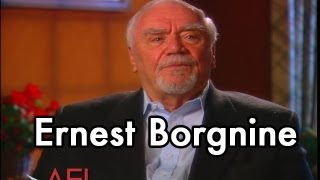 Ernest Borgnine on THE WILD BUNCH