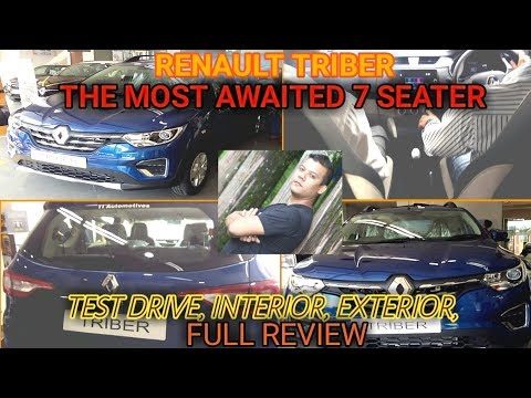 RENAULT TRIBER THE MOST AWAITED 7 SEATER INTERIOR, EXTERIOR FULL REVIEW